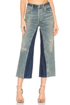 Nwt Citizens Of Humanity Cora Livingston Relaxed Undone Hem Crop J EAN S - $123.49