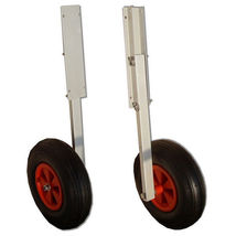 Inflatable Boat Transom Launching Wheel For Inflatable Dinghy Yacht Tend... - $89.00