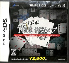 New Nintendo DS Game Simple DS Series Vol.5 The Cards - $29.65