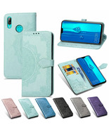 For Huawei P30 Pro Y6 Y7 Y9 2019 Nova 4/3i Mate 20 Magnetic Leather Wall... - $60.45