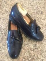 JOHNSTON & MURPHY Limited Burgundy Kiltie Tassel Wingtip Loafers USA SIZ... - $33.19