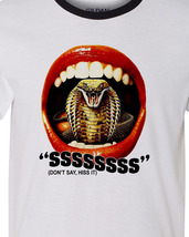 horror movie cult film snake movie tee for sale online graphic tees store ringer shirt thumb200