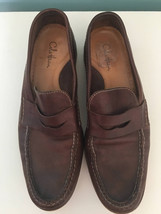 Mens leather slip on driving shoes Cold Haan - £28.50 GBP
