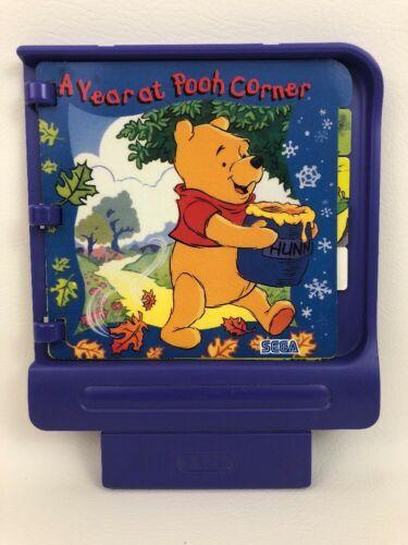 Pico Sega Game Cartridge A Year at Pooh Corner w Parent Guide Vintage 90s Gaming