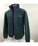 VTG Patagonia Jacket Retro X Deep Pile Retro X Sherpa USA Green Purple S... - $279.99