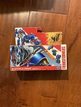 Hasbro Transformers One Step Optimus Prime Deluxe Class Action Figure Bo... - $26.71