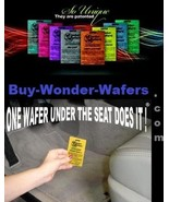 100~ Wonder Wafers~Assorted/Mixed SALE~Car Freshener -Mix the multi-colo... - $29.97