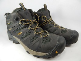 Keen Lansing Size 9 2E WIDE EU 42 Men's WP Steel Toe Work Shoes Black 1018079EE - $79.20