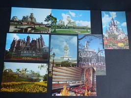 Walt Disney World Park Post Cards (8) Unused - $9.89