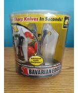 Knife Sharpener Bavarian Edge As Seen On TV Tungsten Carbide NEW Unopened - $14.80
