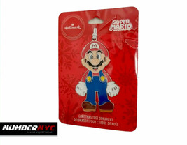 Super Mario Hallmark Christmas Tree Figurine Ornament NEW Sealed! 2019 Nintendo - $16.82