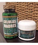 Kit Celulas Madres Capsules / Cream with bluegreen aquae ( AFA Extract )... - $20.00