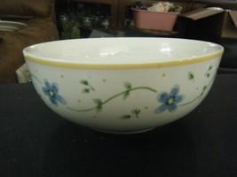 Pfaltzgraff Melissa Pattern Blue Flowers Cereal, Salad or Soup Bowl - $14.84