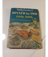 Betty Crocker Dinner For Two Cookbook 1958 2nd Print HC Spiral binder - $2.00