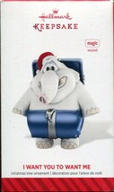 2014 Hallmark Keepsake Christmas Tree Ornament of I Want You to Want Me ... - $5.44