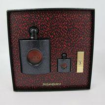 Yves Saint Laurent Black Opium Perfume 3.0 Oz Eau De Parfum Spray 3 Pcs Gift Set image 2