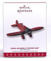 "Hallmark 2017 Travel Air Model R ""Mystery Ship"" Sky's the Limit Ornament NIB 21 - $18.12"