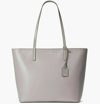 NWT Kate Spade Janie Smooth Leather Medium Tote WKRU6264 $329 SOFT TAUPE - $97.72