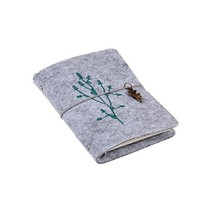 "Wool Felt Cover Rural Travel Diary/Journal Planner/Notebook-6""X4""-A7#6 - $32.28"