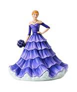 "Royal Doulton Language of Flowers 9.1"" Cherished Friendship Iris Figurin... - $249.74"