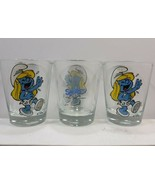 ** Smurfette Laughing Shot Glasses set of 3  - $15.25
