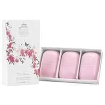 Woods of Windsor True Rose Fine Quality Soap Set 3x100g (3x3.5oz) - $20.00