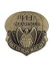 USAF PARARESCUE BADGE PIN - $8.90