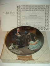 1983 Knowles Norman Rockwell The Storyteller Plate w/ COA and Box - $19.99