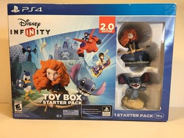 Disney INFINITY Toy Box Starter Pack 2.0 Edition PlayStation 4 Open Box ... - $19.79