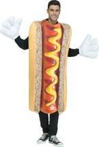 Fun World Foto Vero Hot Cane Divertente BBQ Cibo da Uomo Adulto Costume - $31.05