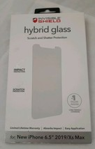 ZAGG InvisibleShield Hybrid Glass Screen Protector iPhone 6.5in - 2019 NEW - $6.93