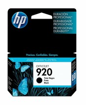 HP 920 Black Original Ink Cartridge (CD971AN) With Yield 420 - $41.53