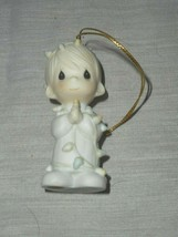Precious Moments Tree Ornament May Your Christmas Be Delightful 15849 Ye... - $9.89