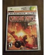 Crimson Skies: High Road to Revenge (Microsoft Xbox, 2003) Platinum Hits... - $26.72