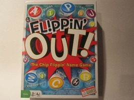 Flippin' Out (Complete) Game The Chip Flippin' Name Game Family Age 10+, 2+ play - $12.16