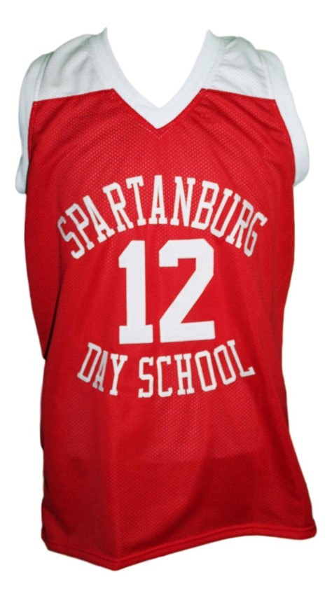 Zion williamson spartanburg day school basketball jersey red   1
