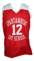 Zion Williamson Spartanburg Day School Basketball Jersey New Sewn Red Any Size image 1