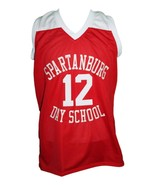 Zion Williamson Spartanburg Day School Basketball Jersey New Sewn Red An... - $44.99+