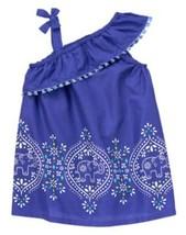 "NWT GYMBOREE GIRLS ""SAFARI SMILES"" COLLECTION BLUE DRESS SIZES: 2T & 5T - $14.99"
