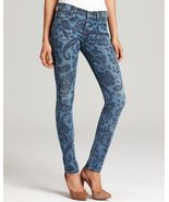 Citizens of Humanity Avedon Low Rise Skinny Jean in Paisley size 28 $298 - $69.95