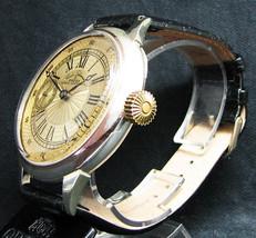 Omega pocket watch movement use custom watch original silver case guilloche ‡U - $1,395.08