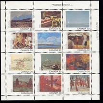 Canada Day Paintings s/s mnh 1982 - $6.00