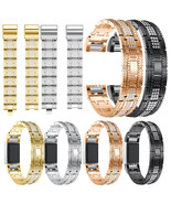 Crystal Watch Band Luxury Alloy Diamante Metal Strap Replacement for Fit... - $23.00