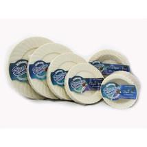 Elegant Ware 6 inch Ivory Plastic Plates/Case of 216 - $81.96
