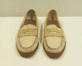 Sperry Top Sider Womans Striped Pink White Boat Shoes Size 7 M - $22.55