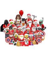 Avengers Marvel & DC Christmas Santa Superheroes minifigures building bl... - $42.00