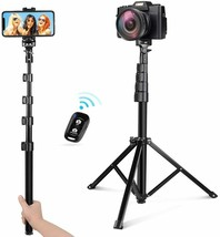 54 inch Selfie Stick Lightweight Bluetooth Detachable & Extendable Phone... - $27.71