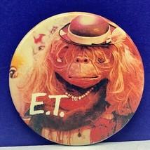 E.T. pinback pin vintage retro extra-terrestrial 1982 universal studios wig girl - $16.35