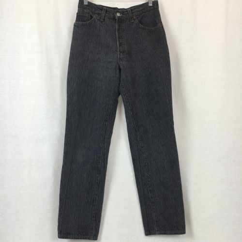Levis 501 Womens Jeans Mom High Waist Button Fly Vintage USA Actual Size 28x30