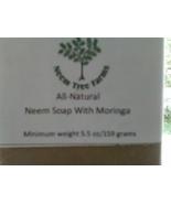 Moringa And Neem Soap 5.5 oz / 159 gr Bar - $6.00